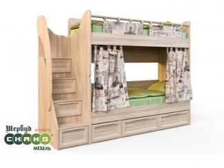 Кровать Шервуд КШ 2-2 - Мебельная фабрика «Сканд-Мебель»