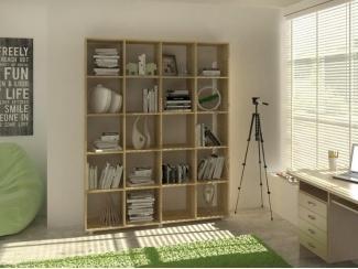 Стеллаж Рекорд -4 - Мебельная фабрика «Баронс»