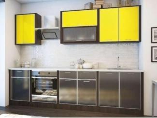 Кухня с фасадами из пластика  - Мебельная фабрика «Кухни Заречного»