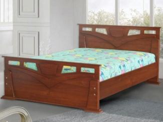 Кровать МДФ МК 4 - Мебельная фабрика «Уютный Дом»