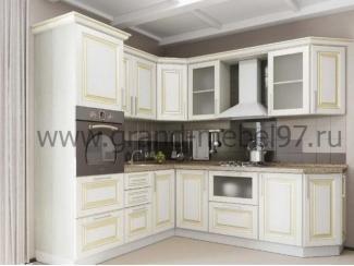 Кухня патина 08 - Мебельная фабрика «Гранд Мебель»