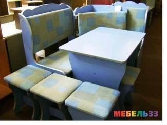 Обеденная группа 5 - Изготовление мебели на заказ «Мебель 33»