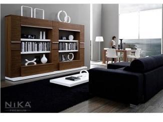 Невысокая стенка в гостиную - Мебельная фабрика «NIKA premium»