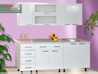 Кухня прямая Лилия DeLuxe 5 (МФД) - Мебельная фабрика «Элна»