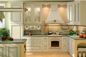 Классическая кухня Искья Зеленая