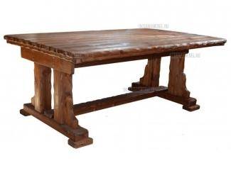Стол «Купец» со старением  - Интернет-магазин «Оксана мебель», г. Муром