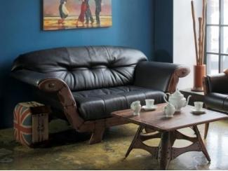 Диван для лофт стиля SKARAB (СКАРАБЕЙ) - Импортёр мебели «Arredo Carisma (Австралия)»
