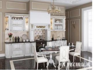Кухня из массива дерева CRACIA - Мебельная фабрика «Престиж»