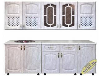 Кухня прямая 83 - Мебельная фабрика «Трио мебель»
