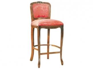 Красный барный табурет Brianza Bh - Мебельная фабрика «Ногинская фабрика стульев»
