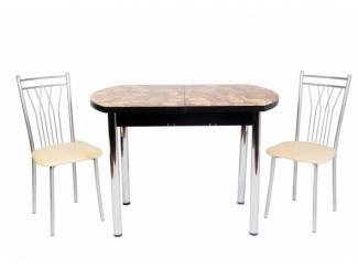 Стол обеденный раздвижной с фотопечатью - Мебельная фабрика «Астера (ТМФ)»