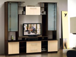Гостиная  стенка Волна-2 - Мебельная фабрика «Виктория»