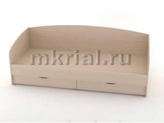 Односпальная кровать с ящиками Кт 03.01 - Мебельная фабрика «Риал»