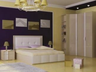 спальный гарнитур Бейлис комплект. 2 - Мебельная фабрика «Любимый дом (Алмаз)»
