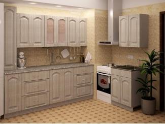 Светлая кухня METRIO Д 2.1 - Мебельная фабрика «Центр мебели Интерлиния»