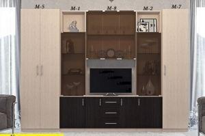 гостиная Клеопатра - Мебельная фабрика «МЭК»