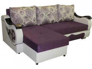Диван угловой Капля с оттоманкой - Мебельная фабрика «Ваш Выбор»