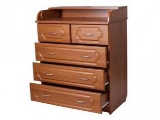 Пеленальный комод в коричневом цвете - Мебельная фабрика «ВиАл»