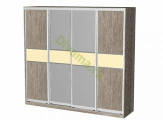 Шкаф-купе Власта 4 - Мебельная фабрика «Фиеста-мебель»