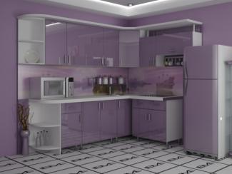 Кухня угловая Анита пластик - Мебельная фабрика «Вариант М»