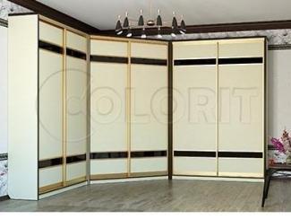 Угловой шкаф-купе  - Мебельная фабрика «Колорит»