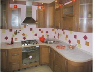 Кухонный гарнитур угловой 6