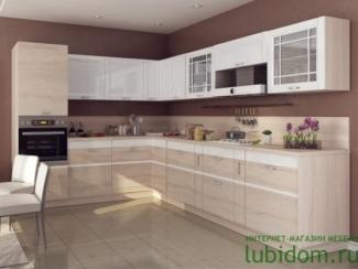 кухня угловая Оливия - Мебельная фабрика «Любимый дом (Алмаз)»
