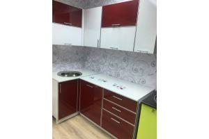 Кухня фасады пластик в алюм. рамке - Мебельная фабрика «Анталь»