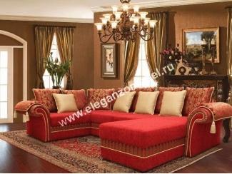 Угловой диван Дамаск - Мебельная фабрика «Элеганзо»
