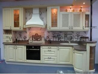 Кухня массив 05 - Мебельная фабрика «Гранд Мебель»
