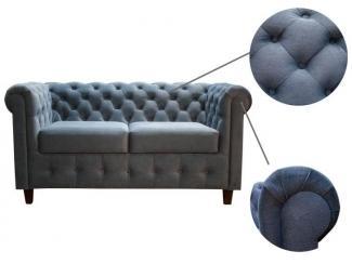 Прямой диван Кантри 2-местный - Мебельная фабрика «AFONIN GROUP»