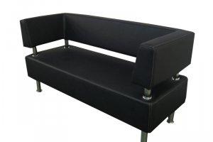 Кухонный уголок Плаза Б черный - Мебельная фабрика «Европейский стиль»