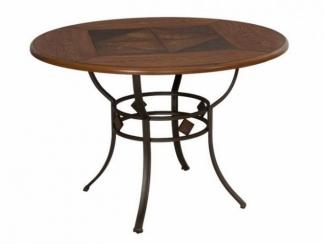 Стол металлический круглый 2871 - Импортёр мебели «МебельТорг»