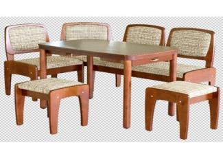 Кухонный уголок Трапеза М Люкс 2 - Импортёр мебели «Азия мебель (Китай)»