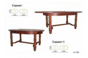 Стол обеденный раздвижной Сармат - Мебельная фабрика «Вектра-мебель»