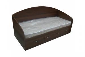 Кровать односпальная с ящиками - Мебельная фабрика «Мебельный Арсенал»