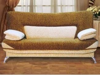 Прямой мягкий диван Салют