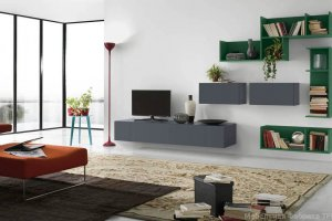 Гостиная в стиле минимализм Мона - Мебельная фабрика «Триана»
