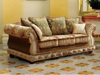 Красивый прямой диван с подушками Антонио  - Мебельная фабрика «Экодизайн»