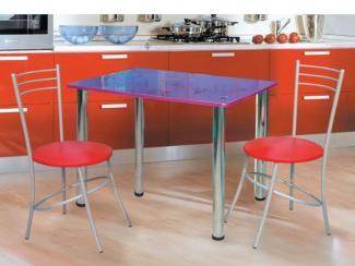 стол прямоугольный, стул Стиль с кольцом - Мебельная фабрика «Долес»