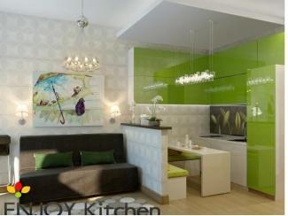 Кухня в студию Габи - Мебельная фабрика «ENJOY Kitchen»
