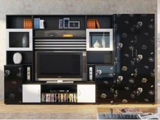 Красивая модульная гостиная Полонез  - Мебельная фабрика «Фран»