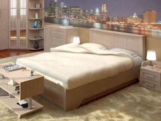 Высокая кровать Осень  - Мебельная фабрика «Интерьер»