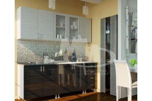 Кухня Микс черный - Мебельная фабрика «МиФ»