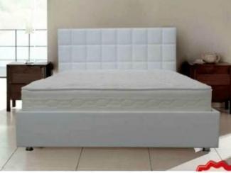 Белая высокая кровать Агата  - Импортёр мебели «Bellona (Турция)»