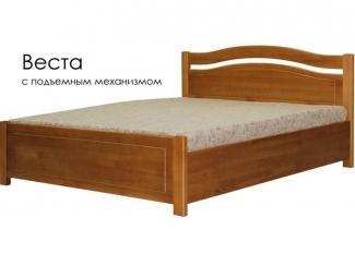 Кровать с подъемным механизмом Веста - Мебельная фабрика «Массив»