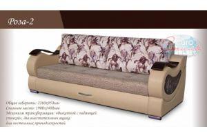 Прямой диван Роза 2