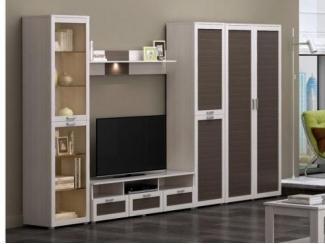 Гостиная под телевизор Люксор - Мебельная фабрика «ИнтерДизайн»