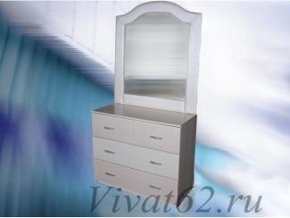 Комод с зеркалом Инфинити  - Мебельная фабрика «Виват»