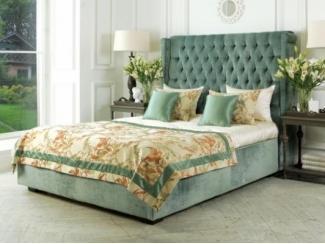 Тканевая кровать с утяжкой Примавера   - Мебельная фабрика «Рой Бош»